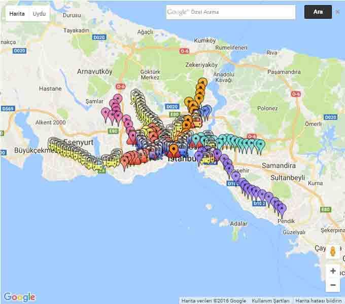 istanbul-metrobus-metro-tramvay-duraklari-haritasi