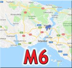 m6 metro durakları